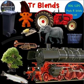 Tr Blends Clip Art Phonics Word Families Digital Photo Stickers