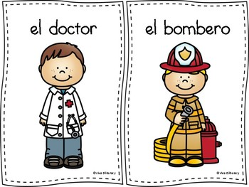 Community Worker Spanish Worksheets & Teaching Resources | TpT