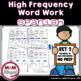Trabajando con Palabras - Spanish High Frequency Word Work {SET 2}