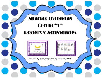 Silabas Trabadas con la L - Posters y Actividades