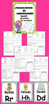 ¡Trabajemos el abecedario! Spanish resources