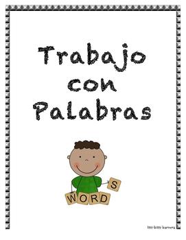 Trabajo con Palabras/Word Work