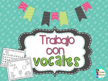 Trabajo con vocales - Vowels Worksheets