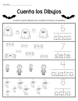 Trabajo por la Mañana-Halloween K-1