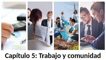 Trabajo y comunidad - Vocabulary PowerPoint - Realidades 3 - Chapter 5