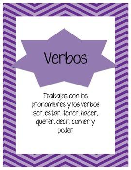 Trabajos con verbos