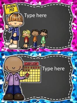 Dual language classroom jobs/Trabajos de clase Bilingual EDITABLE