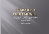 Trabajos y Profesiones - Sinóminos y Antónimos