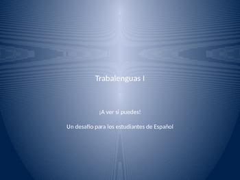 Trabalenguas 1 (Spanish tongue twisters)