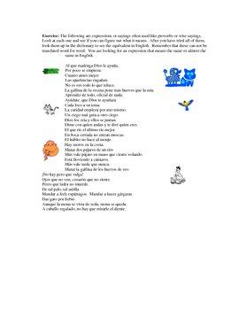 Trabalenguas, Rimas y Proverbios