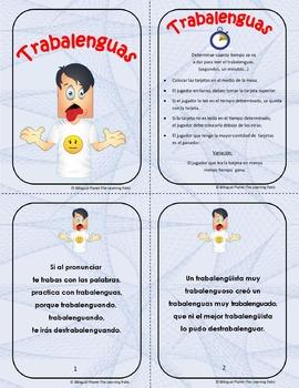 Trabalenguas - Spanish Tongue Twisters