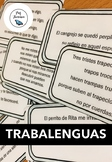 Trabalenguas - tongue twisters in Spanish