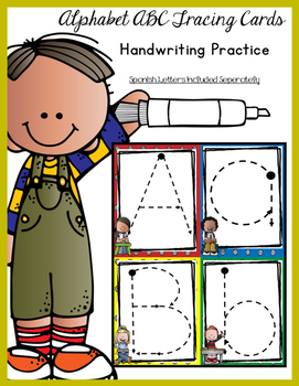 Trace A Letter Handwriting Station