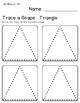 Trace A Shape Basics Prek-K LARGE Pack
