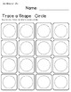 Trace A Shape Basics Prek-K SMALL Pack