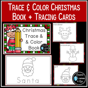 Trace & Color Books + Tracing Cards Bundle 1 Fine Motor Skills