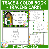 Trace & Color St. Patrick's Day Book + Tracing Cards Fine Motor Skills