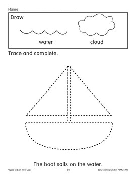 Trace/Complete: Sailboat