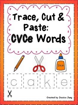 CVCe Words: Trace, Cut & Paste