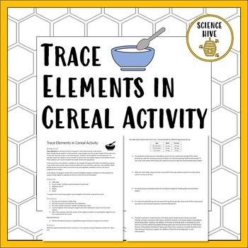 Trace Elements in Cereal Activity