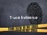 Trace Evidence: Unit Plan
