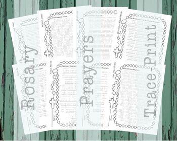 Rosary Prayers {Trace}