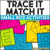 Trace It Match It: Small Box Activities