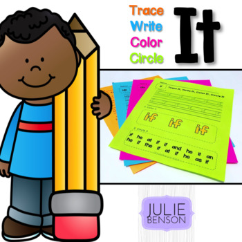 Trace It, Write It, Color It, Circle It: Sight Words