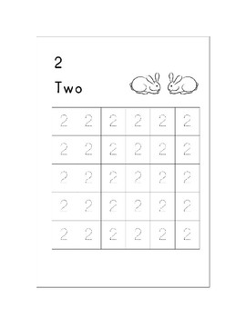 Trace Numbers 1 to 10