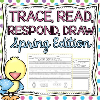 Trace, Read, Respond, Draw: Handwriting & Reading Comprehension