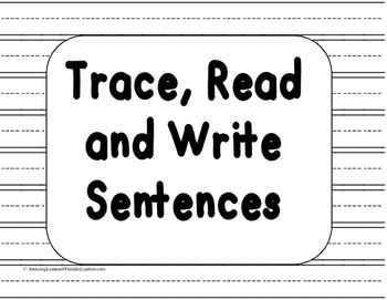 Trace Read and Write Sentences
