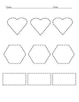 Trace Shapes Page