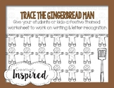Trace The Gingerbread Man