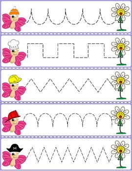 Trace The Pattern: Butterflies to Flowers