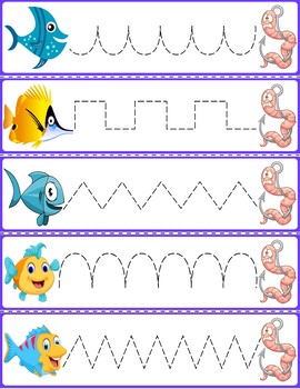 Trace The Pattern: Fish to Worms
