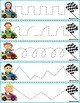 Trace The Pattern: Race Cars To Checkered Flag
