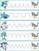 Trace The Pattern: Sharks & Swimmers