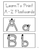 Trace To Write® Dry Erase Alphabet Flash Cards