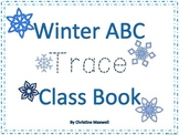 Trace Winter ABC Class Book With Dotted Words
