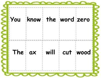Trace & Write Alphabet Words & Sentences