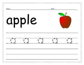 Trace & Write Lower Case Alphabet_Extra Practice