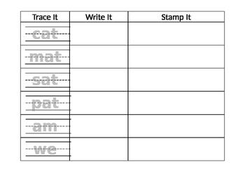 Trace Write Stamp