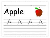 Trace & Write Upper Case Alphabet_Extra Practice