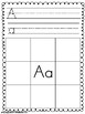 Trace Write and Cut and Paste Worksheets