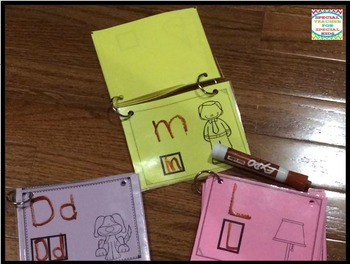 Trace, Write and FLIP- Kinesthetic ALPHABET
