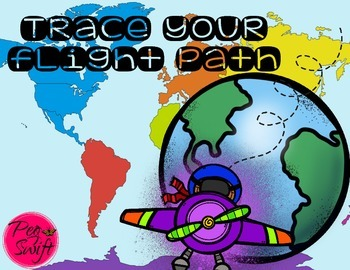 Trace Your Flight Path * FREE