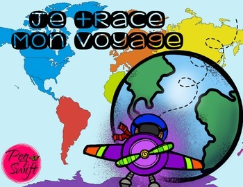 Trace Your Flight Path * FREE * French