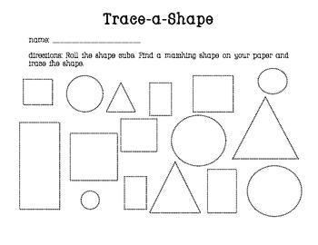 Trace a Shape