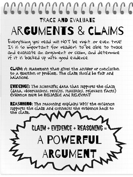 claims and arguments