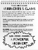Trace an ARGUMENT and CLAIMS - Informational Reading Toolk